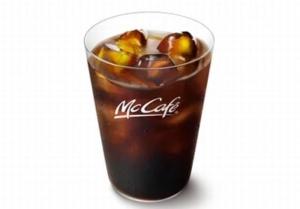 マクドナルド「プレミアムローストアイスコーヒー(Mサイズ)」